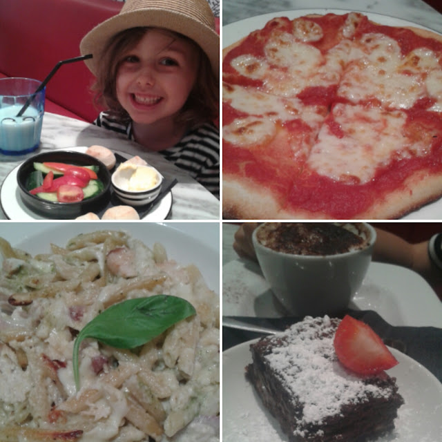 Pizza express lunch