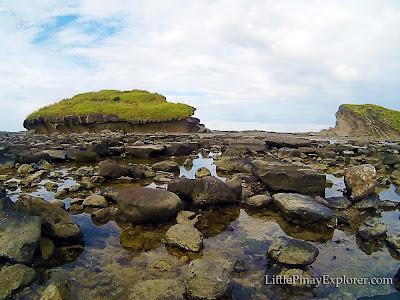 magasang biri island samar rock formation
