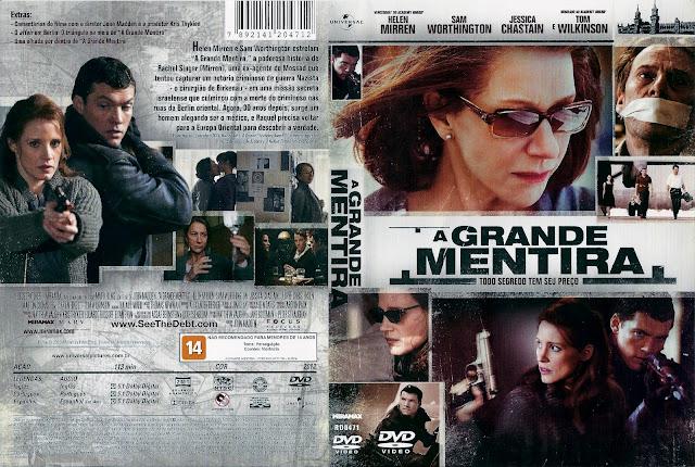 Capa DVD A Grande Mentira