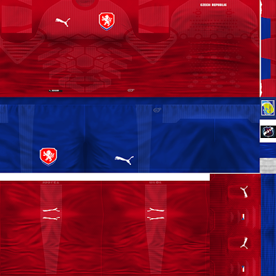PES 6 Kits Czech Republic Season 2018/2019 by JeremySvr
