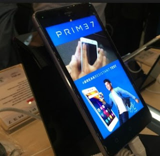 Smartphone tahan banting Polytron Prime 7