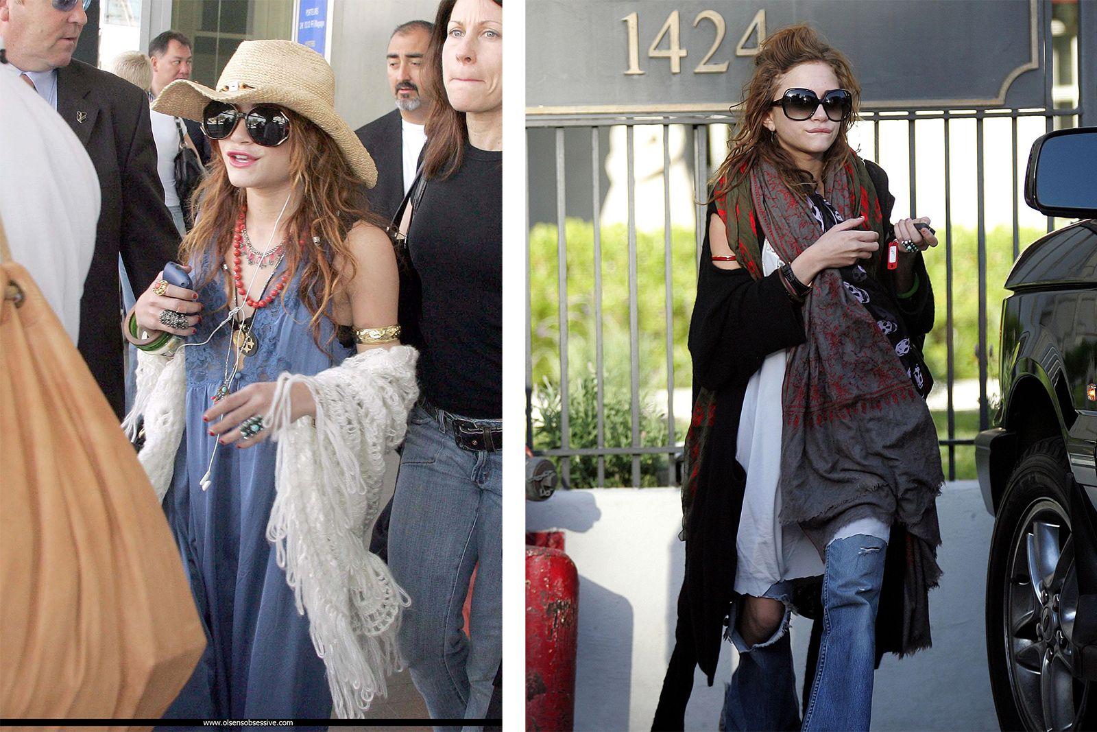 Mary Kate Olsen style