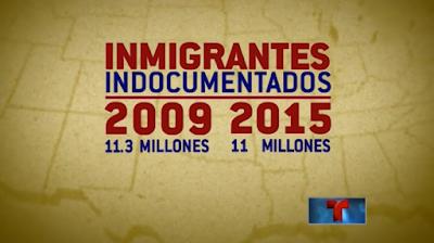 Sigue cayendo el número de inmigrantes sin documentos en EEUU