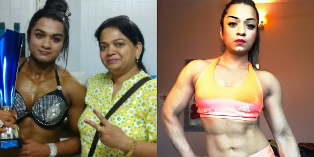 Bhumika Sharma Miss World Bodybuildin