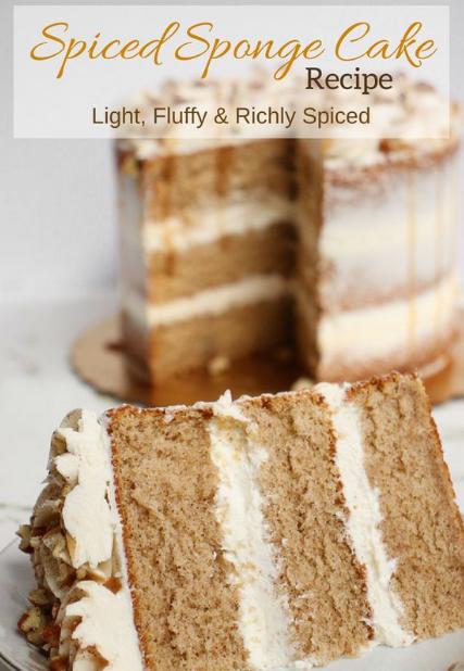 Spiced Sponge Cake
