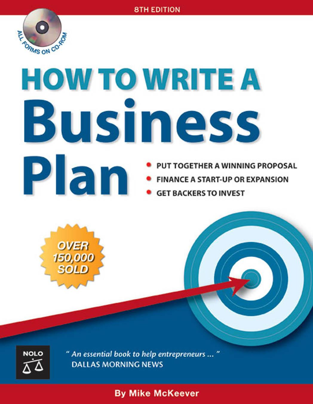 book publishers business plan