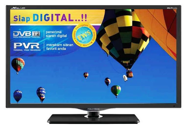 Harga TV LED Polytron PLD 32V710 Digital TV 32 Inch