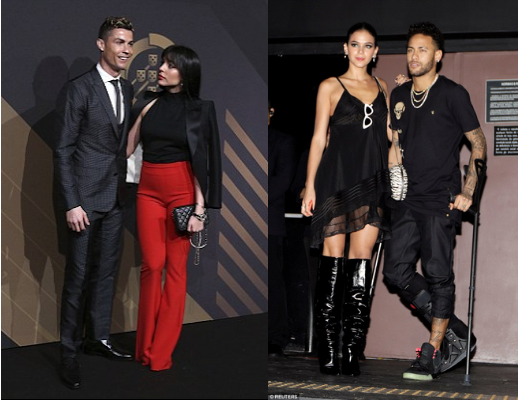 Football stars and their girlfriends: Cristiano Ronaldo, Neymar step out with their stunning babes