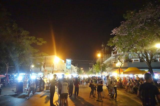 Thailand, Chiang Mai, street market