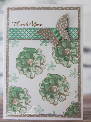 What I Love Thank You Flowers - grab this free stamp set while you can!