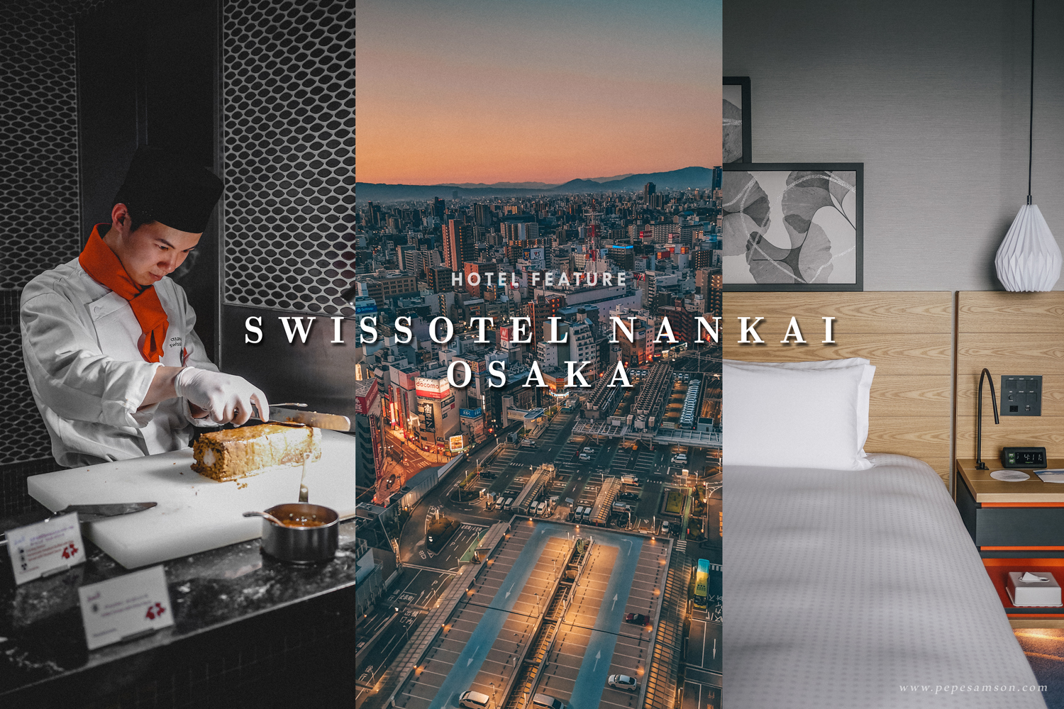 Where to Stay in Osaka, Japan: Swissôtel Nankai in Namba