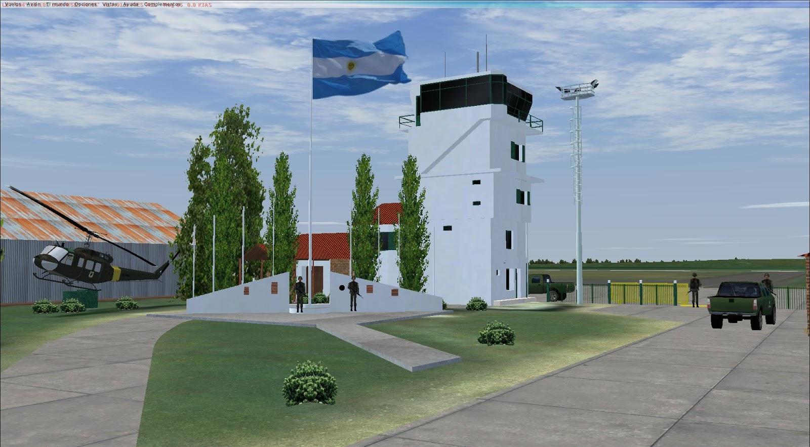 Escenarios y repaints para flight simulator x y 2004 for Puerta 7 campo de mayo