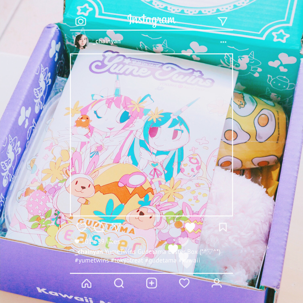 YumeTwins – kawaii monthly box from Tokyo | chainyan.co
