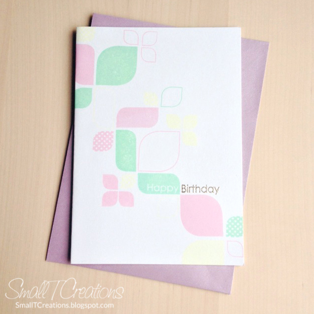 Retro Birthday Card | Small T Creations