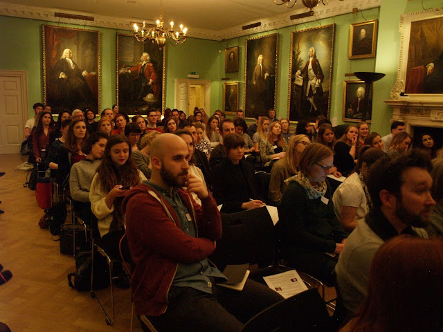 Young People in Arts event at the Foundling Museum