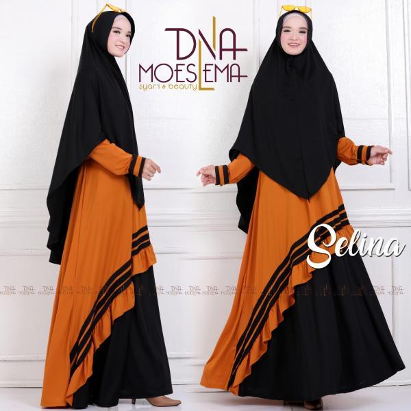 Jual Baju Busana Muslim Gamis Selina Syari