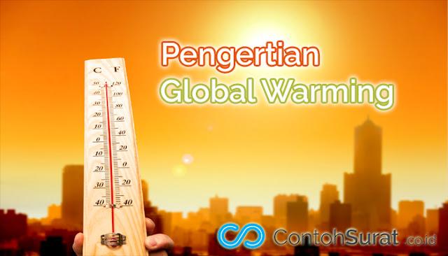 Pengertian Global Warming Pemanasan Global