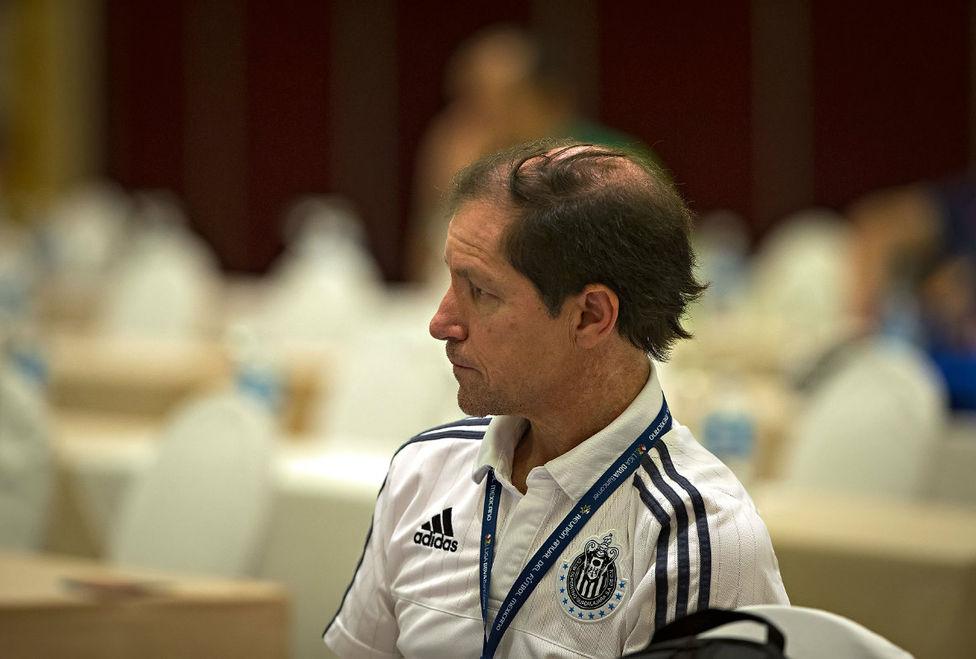 Jaime Ordiales, director deportivo de Chivas en el Draft.