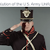 240 years of army uniform in short