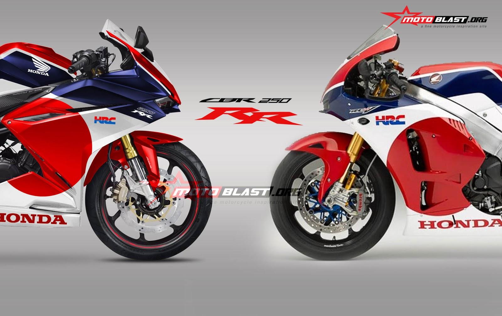Modifikasi All New Honda CBR250RR Livery RWB Otoferycom