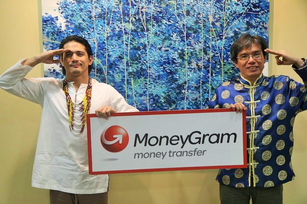 MoneyGram for OFWs, Robin Padilla