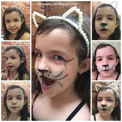 como fazer maquiagem de gatinha