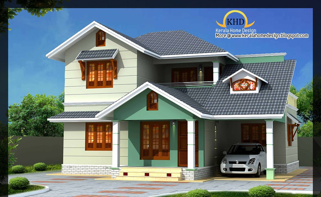 Beautiful 1637 Sq Ft Villa Plan And Elevation Kerala