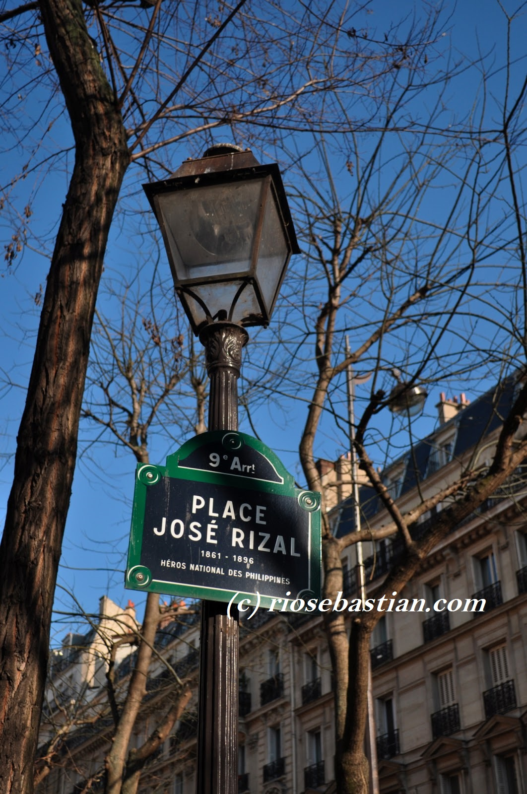 ophthalmic studies of rizal in paris Ophthalmic escapees jose rizal (1861-1896) was born in laguna in the filipino island of luzon after completing his school in his native country he travelled to.