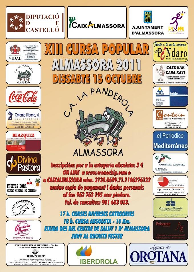 XIII CURSA POPULAR ALMASSORA