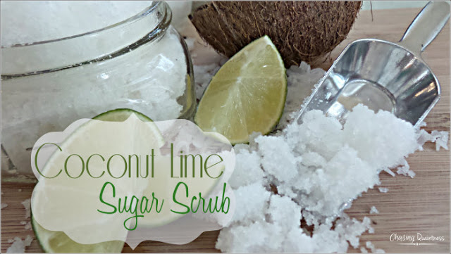 Lime Sugar Scrub-Chasing Quaintness-Weekly Blog Link Up Party-Treasure Hunt Thursday- From My Front Porch To Yours