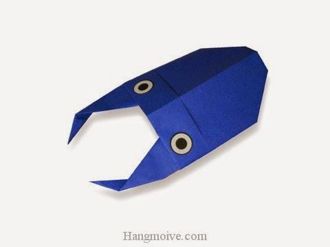 Cách gấp, xếp Con Bọ cánh cứng Stag beetle 2 bằng giấy origami - Video hướng dẫn xếp hình côn trùng - How to fold a Stag beetle
