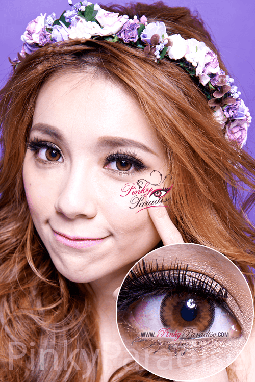 Mi Cloud Brown Toric Circle Lenses (Colored Contacts)