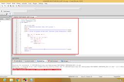 Program Menampilkan Bilangan Prima C++