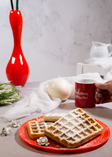 Gofres Belgas receta Thermomix