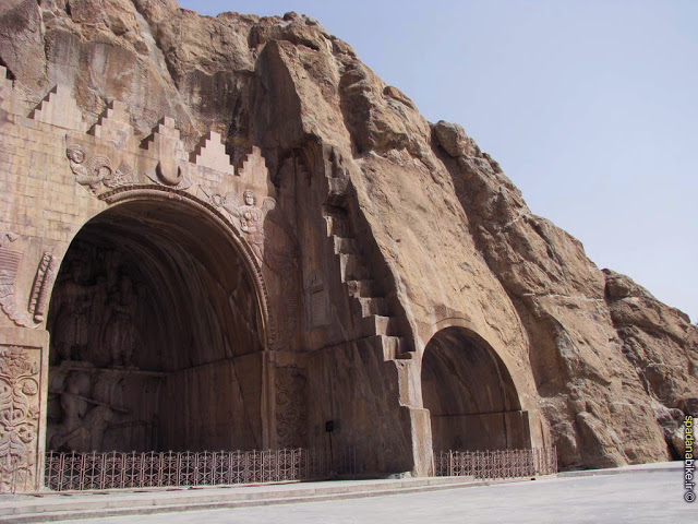 Los relieves de Taq-e Bostan en Kermanshah