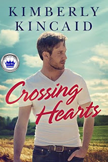 romance novel covers, contemporary romance, Crossing Hearts by Kimberly Kincaid