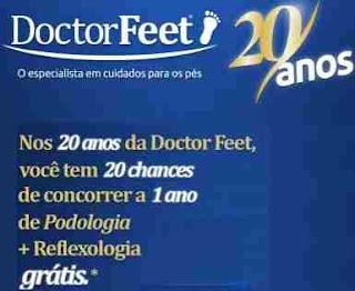 Cadastrar Promoção Doctor Feet 20 Anos 2018 1 Ano Grátis Podologia