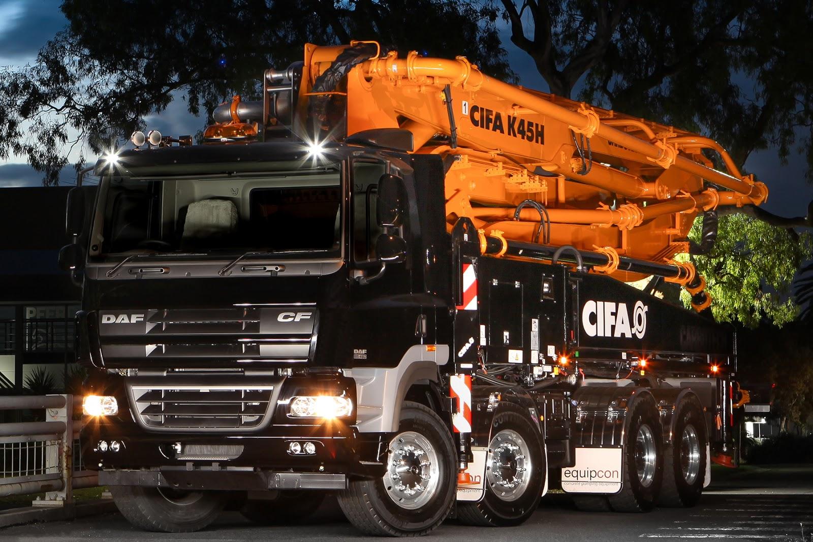 daf azienda  CIFA-K45H-Carbon-Fibre-Boom-Pump-Equipcon
