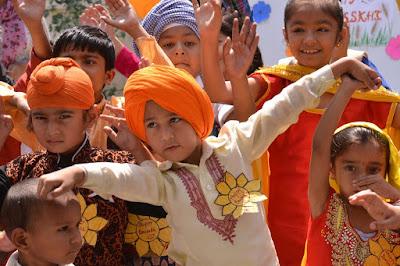 anak-anak beragama Sikh
