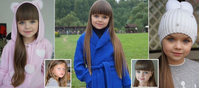 Is this the most beautiful girl in the world? Russian child model aged 6, already has 500,000 Instagram followers (photos)