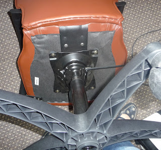 renowacja fotela do biurka