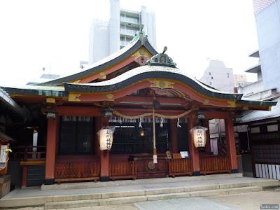 堀川戎神社拝殿