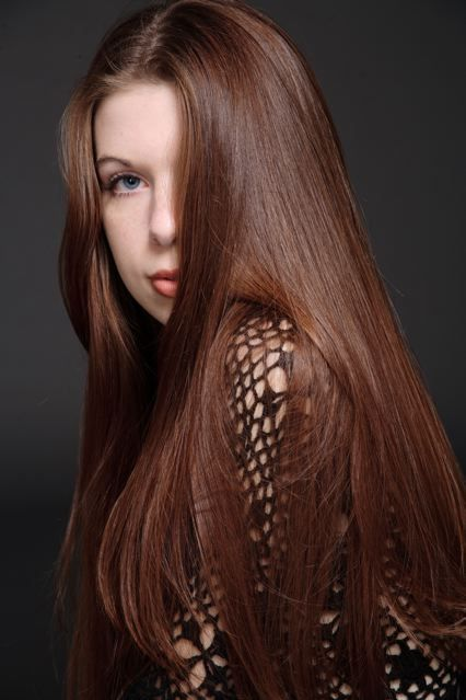 chestnut brown hairstyles for long hair