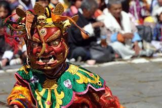 """Lễ hội """"Thần Chết"""" ở Bhutan."""