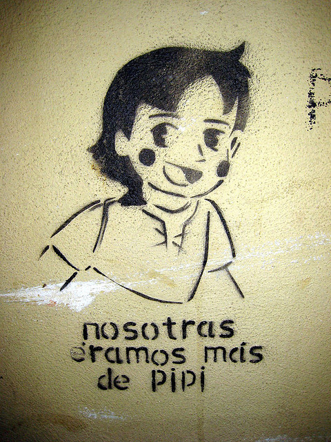 Imagen: graffiti : Nosotras éramos más de Pipi
