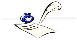 Just a token image of a pen and quill to make the blog prettier