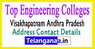 Top Engineering Colleges in Visakhapatnam Andhra Pradesh