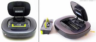 LG Hom-Bot Square VR64703LVM, vano interno
