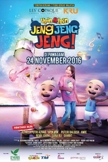 Upin Dan Ipin Jeng Jeng Jeng! Full Movie Watch