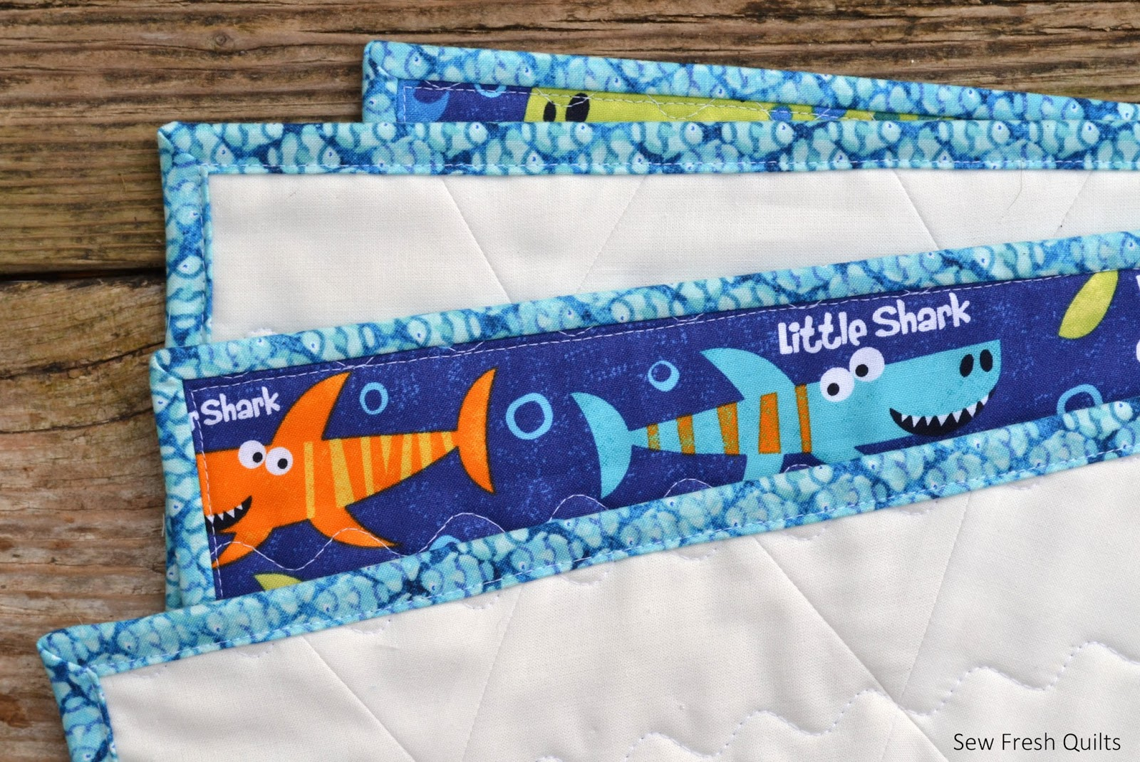 Sew Fresh Quilts Beach House Baby Quilt